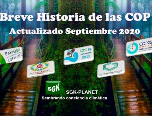 Breve historia de las COP – Conferencias sobre el Cambio Climático