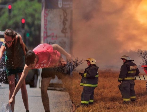 Heat waves, fires, and climate change